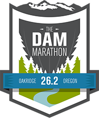 The Dam Marathon Logo